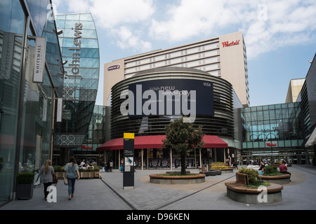 Westfield Shopping Centre, Stratford, London. - Stock Photo