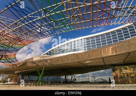 Trade Fairs and Congress Center, Malaga, Region of Andalusia, Spain, Europe - Stock Photo