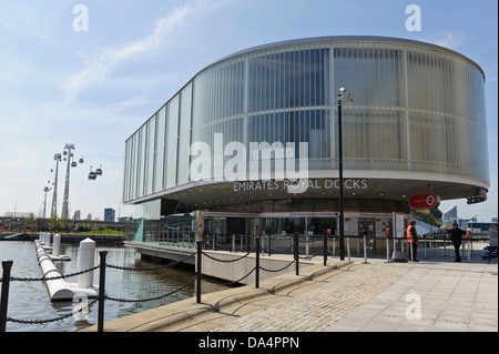Emirates Royal Docks Terminal, London, England, United Kingdom. - Stock Photo