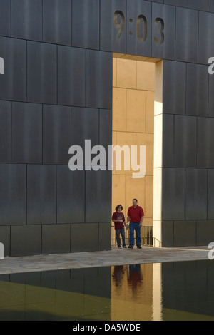 USA, United States, America, North America, Oklahoma, midwest, Great Plains, Oklahoma City, memorial, bombing, Bombing - Stock Photo