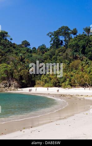 Playa Manuel Antonio, Manuel Antonio National Park, Costa Rica - Stock Photo