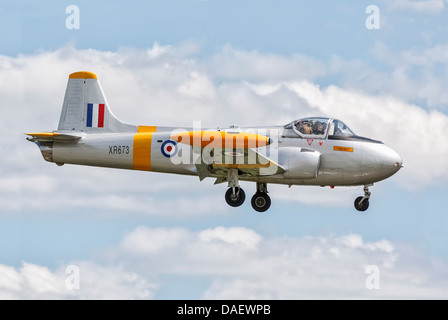 BAC Jet Provost T3 training aircraft of the RAF - Stock Photo