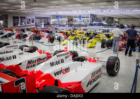 Indianapolis Motor Speedway Hall of Fame Museum, Indianapolis, Indiana, United States of America - Stock Photo