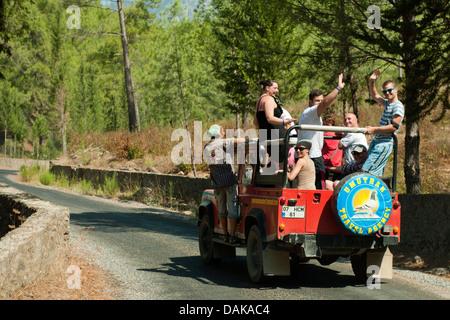 Türkei, Provinz Antalya, Asien TR TUR Türkei Tuerkei Turkey Mittelmeerküs am Sapadere-Canyon bei Demirtas nordöstlich - Stock Photo