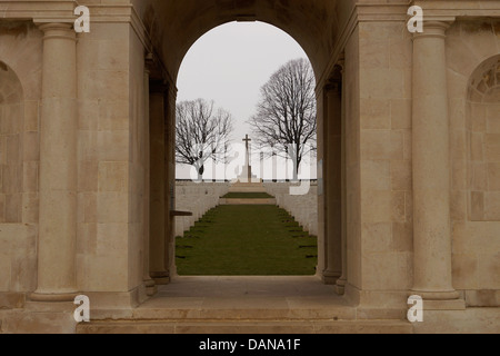 Serre Road No 1 British Military Cemetery.  First World War, WW1, World War One, Somme battlefield, CWG maintain - Stock Photo