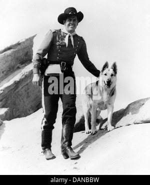 THE ADVENTURES OF RIN TIN TIN (TV) (1954 - 1959) JAMES BROWN, AORT 006 MOVIESTORE COLLECTION LTD - Stock Photo