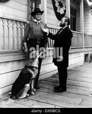 THE ADVENTURES OF RIN TIN TIN (TV) (1954 - 1959) JAMES BROWN, PAUL BIRCH AORT 009 MOVIESTORE COLLECTION LTD - Stock Photo