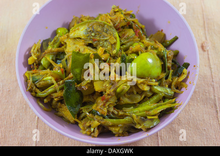 Thai Cuisine Kaeng Hor ( Northern mixed curry ) - Stock Photo