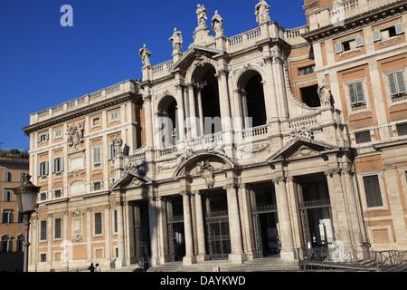Rome Santa Maria Maggiore Basilica - Stock Photo