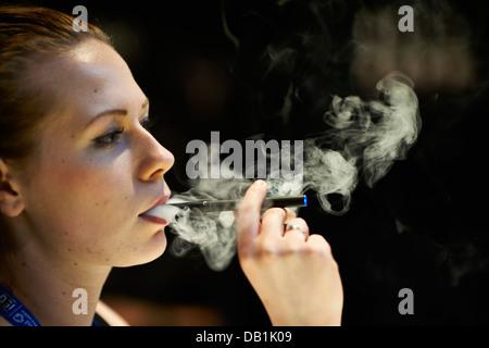electronic cigarette - Stock Photo