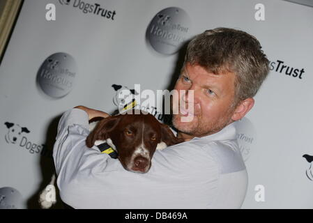 London, UK. 23rd July 2013. Adrian Chiles attends the Dogs Trust Honours held at Home House on July 23, 2013 in - Stock Photo