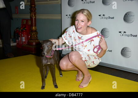 London, UK. 23rd July 2013. Tuuli Shipster attends the Dogs Trust Honours held at Home House on July 23, 2013 in - Stock Photo