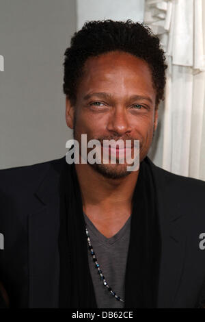 Gary Dourdan Los Angeles Premiere of 'Jumping The Broom' held at ArcLight Cinemas in Hollywood Los Angeles, California - Stock Photo