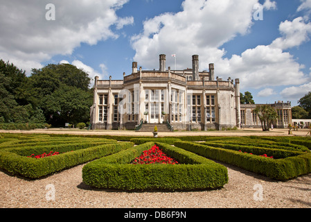 Highcliffe Castle Dorset Grade 1 listed building once home to retailer Harry Schofield.  other visitors include - Stock Photo