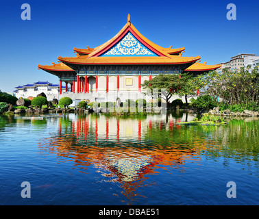 National Concert Hall of Taiwan in Freedom Square, Taipei, Taiwan. - Stock Photo