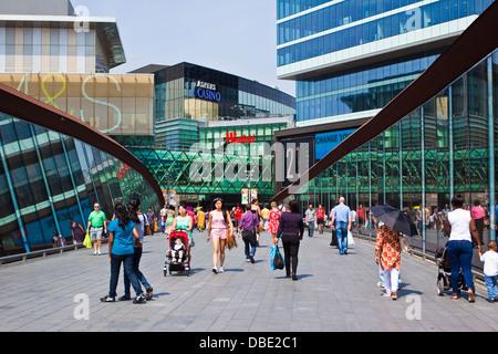 Westfield shopping centre, Stratford London - Stock Photo