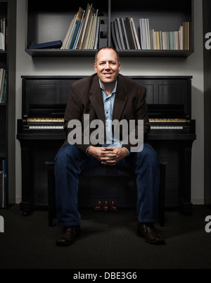Imagem Music office in New York city, NY. - Stock Photo