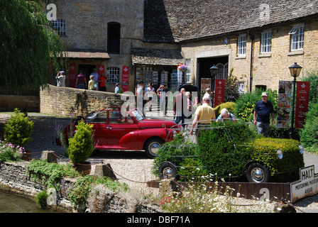 Cotswolds Motoring Museum in charming Bourton on the Water, Cotswolds UK - Stock Photo