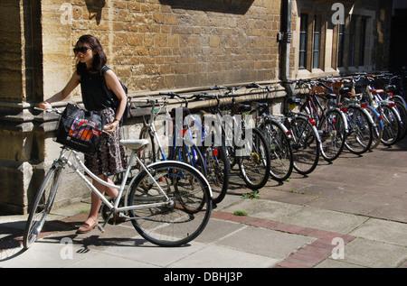 Trinity College Oxford United Kingdom - Stock Photo