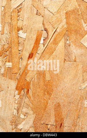 Wood texture - Particle Board / chipboard / plywood close up - Stock Photo