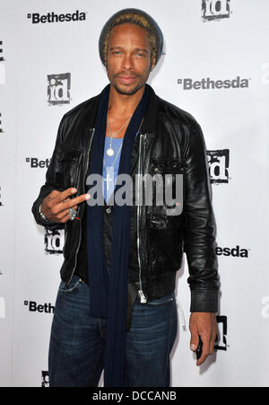 Gary Dourdan Official Launch Party for the most anticipated video game of the year 'Rage' held at Chinatown's Historical - Stock Photo