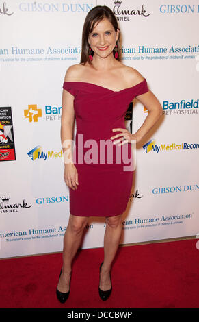 Kellie Martin The American Humane Association's First Annual Hero Dog Awards at The Beverly Hilton hotel Beverly - Stock Photo