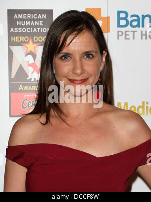 Kellie Martin The American Humane Associations first annual Hero Dog Awards at The Beverly Hilton hotel Beverly - Stock Photo