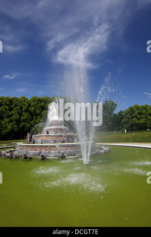 Fountain in Herrenchiemsee - Chiemsee, Germany - Stock Photo
