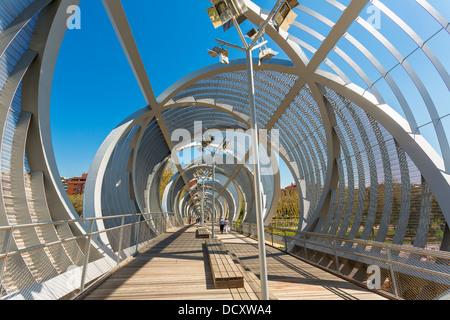 Madrid, Puente Monumental de Arganzuela - Stock Photo