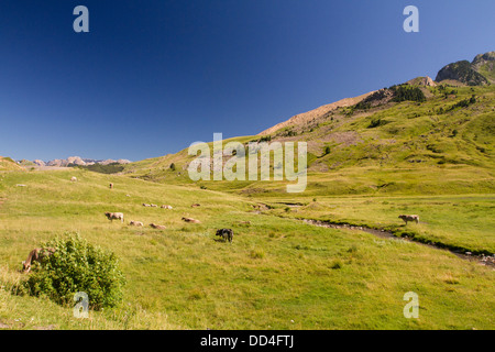 Formigal, Pyrenees. - Stock Photo