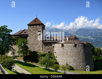 Vaduz Castle, Vaduz, Liechtenstein, Europe - Stock Photo