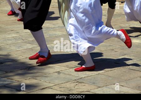 Konavle Folk Dance, Cilipi, Croatia, Europe - Stock Photo