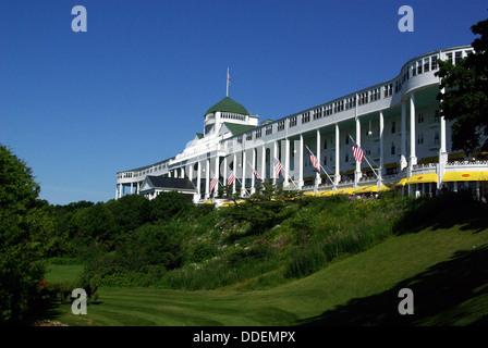 The Grand Hotel Mackinac Island, Michigan, - Stock Photo