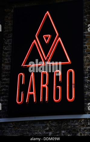 Cargo Club, Rivington Street, East London, UK - Stock Photo