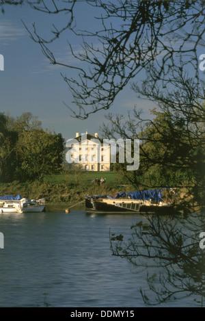 Marble Hill House, Twickenham, London, 1996. Artist: N Corrie - Stock Photo