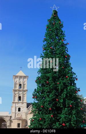 Cyprus, Larnaca, Larnaca, in the Old City, Church of St. Lazaros Church - Stock Photo
