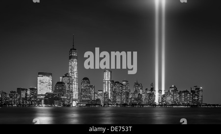 Tribute in Light, 2013 - Stock Photo