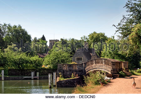 Iffley Lock, Oxford - Stock Photo