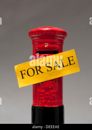 Royal Mail to be privatised, London - Stock Photo