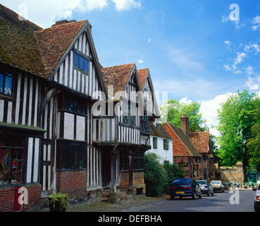 Village of Chiddingstone. Kent. England - Stock Photo