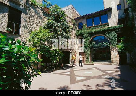 Centre Bonastruc Ça Porta, Museum of Catalan Jewish History. Girona. Spain - Stock Photo