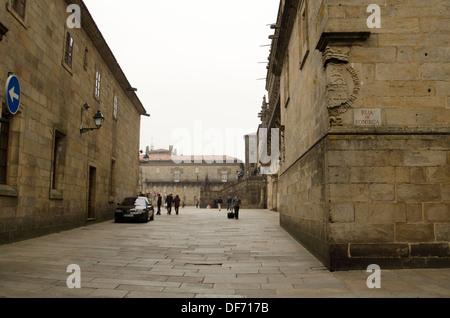 Europe, Spain, Galicia, Santiago de Compostela - Stock Photo