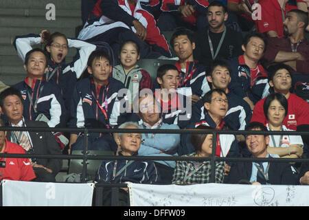 Antwerp, Belgium. 3rd Oct, 2013. Japan team group (JPN), OCTOBER 3, 2013 - Artistic Gymnastics : 2013 World Artistic - Stock Photo