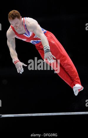 Antwerp, Belgium.3rd Oct, 2013. World Championship Gymnastics Antwerp Belgium. Mens All -Around Finals 3.10.13. - Stock Photo
