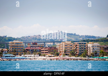 san benedetto del tronto, marche, italy, europe - Stock Photo