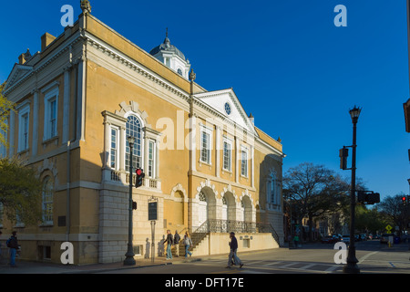 The Old Exchange and Provost Dungeon, Charleston, South Carolina - Stock Photo
