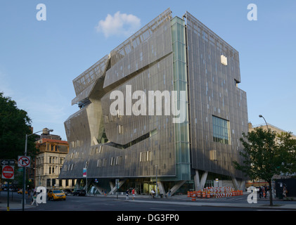 The Cooper Union for the Advancement of Science and Art, 41 Cooper Square LEED platinum rating for environmental - Stock Photo