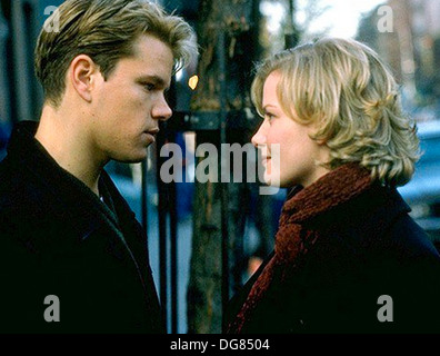 ROUNDERS  1998 Miramax Films production with Matt Damon and Gretchen Mol - Stock Photo