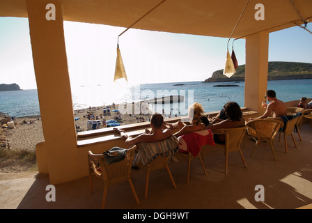 Cala Conta (Platjes de ses Comptes), Ibiza - Stock Photo