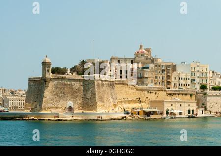 Fort St Michael, Senglea, Malta - Stock Photo